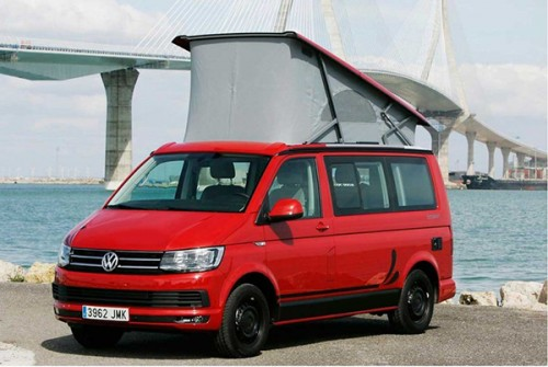 A VW T6 Campervan called CaliforniaT6 and CaliforniaT6 for hire in cadiz, Spain