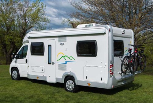 A Low Profile Motorhome called Hertz and Hertz for hire