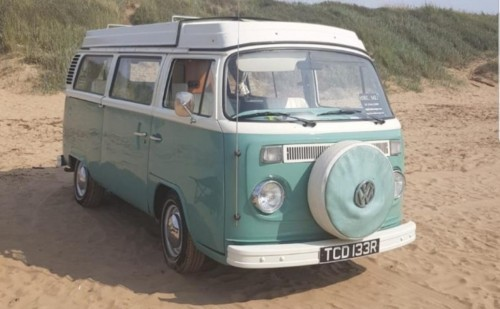 A VW T2 Classic Campervan called Amelia78 and Westbury Amelia for hire in westbury, Wiltshire