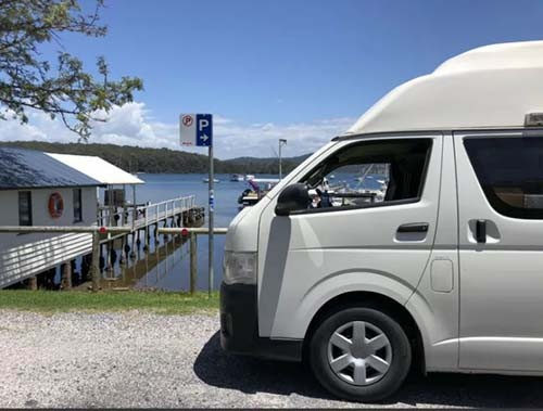 A NON VW Conversion Campervan called Dundee and Its Me... for hire in south fremantle, Australia