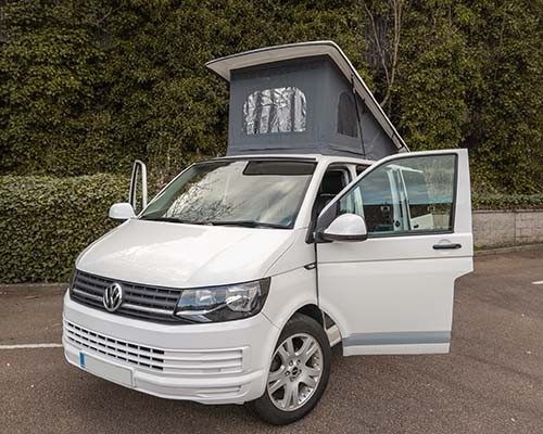 A VW T6 Campervan called VanillaIce and Im Vanilla Ice for hire in aberdeen, Aberdeen