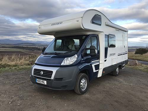 A Ducato Motorhome called VanMorrisonCrafter and Morrison for hire in aberdeen, Aberdeen