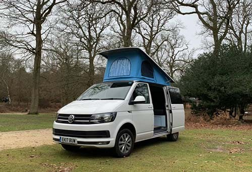 A VW T6 Campervan called Edi and Edi for hire in watford, Hertfordshire