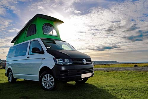 A VW T6 Campervan called Elsie and Elsie the Girl... for hire in bideford, Devon