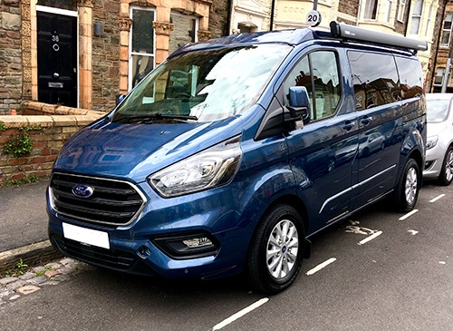 A Ford Campervan called Bryn and Ford for hire in avon, Bristol