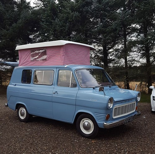 A Ford Campervan called BlueTilly and Tilly the Ford for hire in blairgowrie, Perth and Kinross