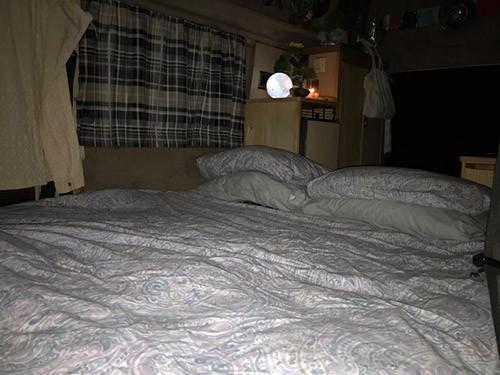 Sleeping space