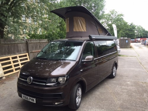 A VW T5 Campervan called Lancelot and Handsome Lancelot for hire in macclesfield, Cheshire