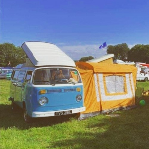 A VW T2 Classic Campervan called Bea and Awning for hire in sale, Greater Manchester