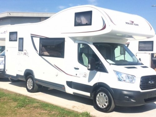 A Roller team Motorhome called JackOliver and 690 for hire in sheffield, South Yorkshire