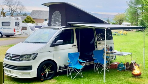 A VW T6 Campervan called Starlight and Starlight T6 for hire in sowerby bridge, West Yorkshire