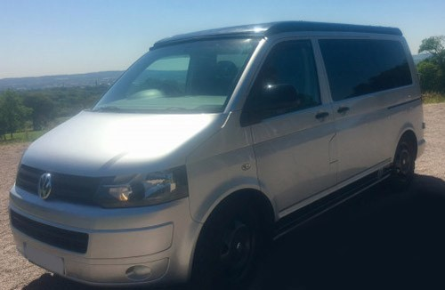 A VW T5 Campervan called Milothedub and Milo for hire in bolton, Greater Manchester