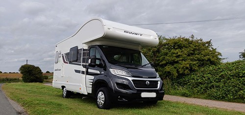 A Swift Motorhome called Airic and The Escape... for hire in hove, East Sussex