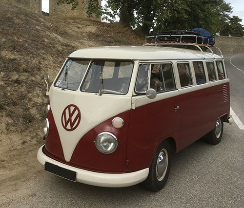 A VW T1 Splitscreen Campervan called Sofia and Its Me Sofia... for hire in guernsey, Channel Islands