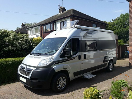 A Cruisin Motorhome called Jim and Jim the Camper for hire in wimborne, Dorset