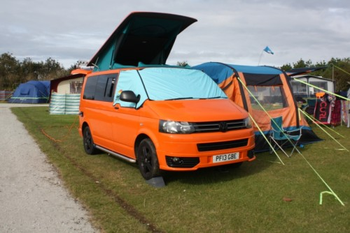 A VW T5 Campervan called Beans and Beans open for hire in nottingham, Nottinghamshire