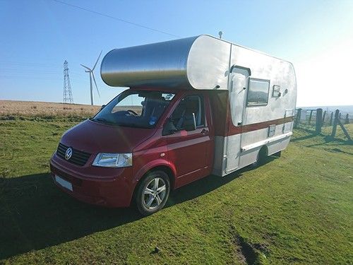 A VW T5 Campervan called Vwt5Evansspecial and Evan for hire in ammanford, Carmarthenshire