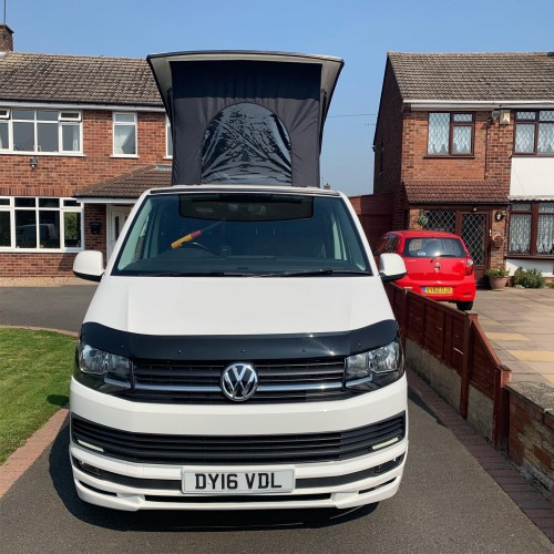 A VW T6 Campervan called Myrtal and My Face for hire in nuneaton, Warwickshire
