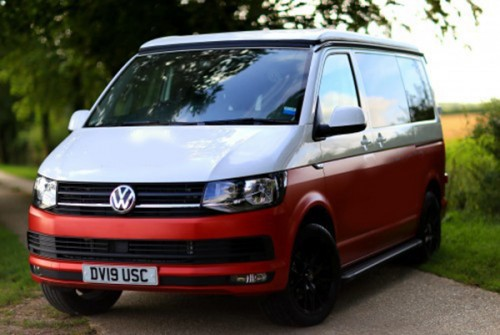 A VW T6 Campervan called Gorilla and Hey Im Little Bear for hire in chertsey, Surrey