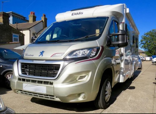 A Elddis Motorhome called ElddisRivaGold195 and Riva Gold for hire in wallington , Surrey