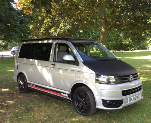 A VW T5 Campervan called Velma_T5 and Velma the Camper for hire in lichfield, Staffordshire