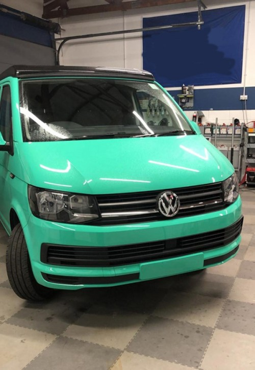 A VW T6 Campervan called Peppermint and Peppermint... for hire in glasgow, Glasgow