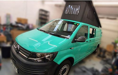A VW T6 Campervan called Pokey and Im Pokey for hire in glasgow, Glasgow