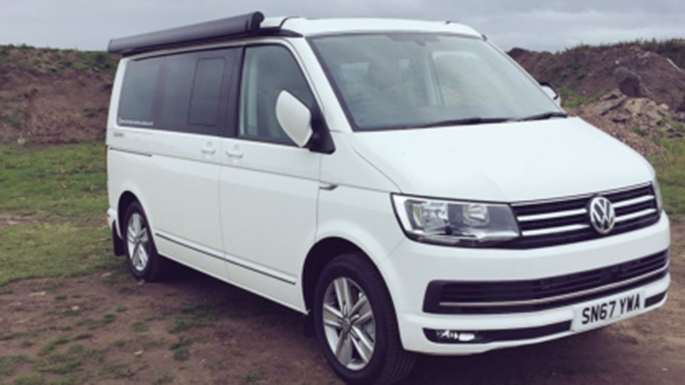 A VW T5 California Campervan called Witton and Witton the Camper for hire in glasgow, Glasgow