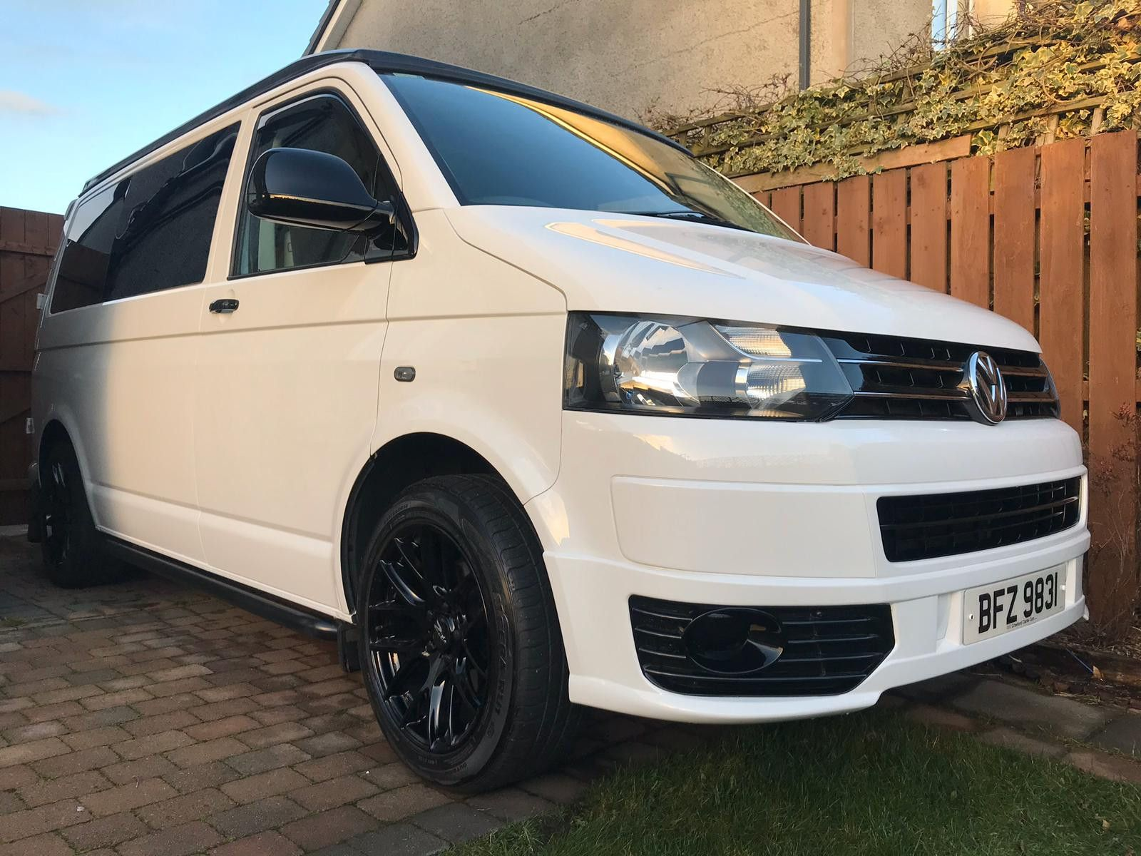 A VW T5 Campervan called Orah and for hire in ballymoney , Antrim