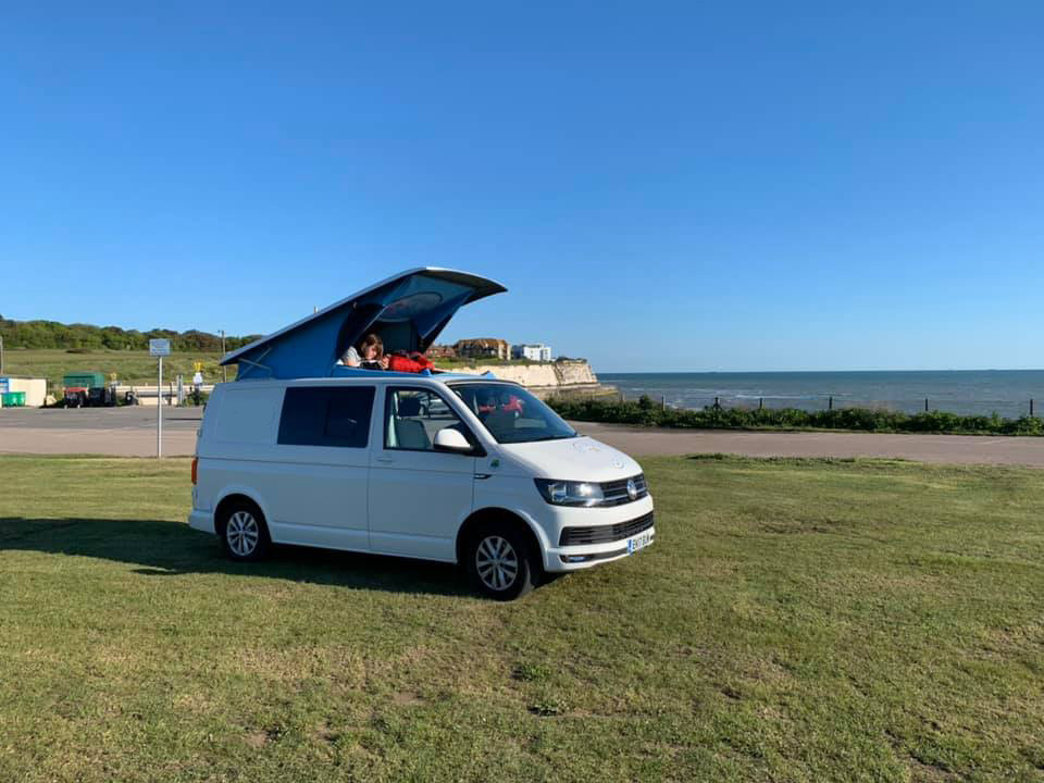 A VW T5 Campervan called Jossiee and Jossie the Camper for hire in watford, Hertfordshire