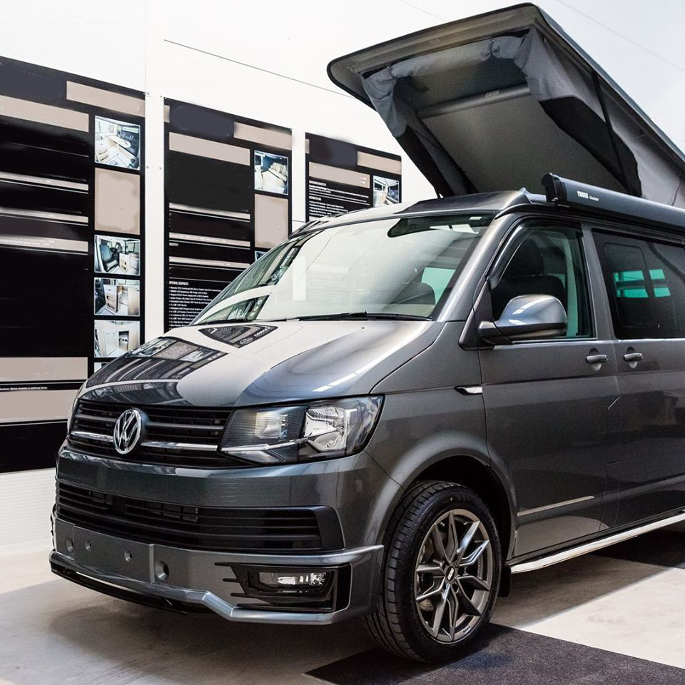 A VW T6 Campervan called Skye and for hire in leamington spa, Warwickshire
