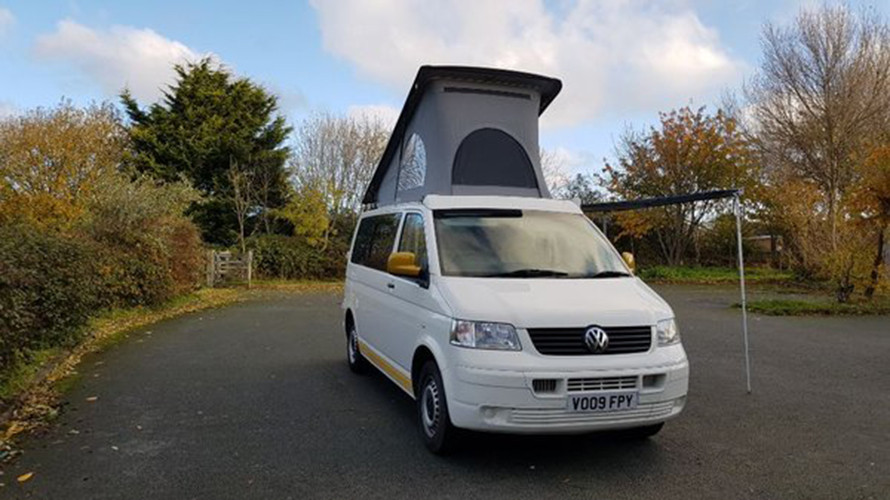 A VW T5 Campervan called Nevada and for hire in prestatyn, Denbighshire