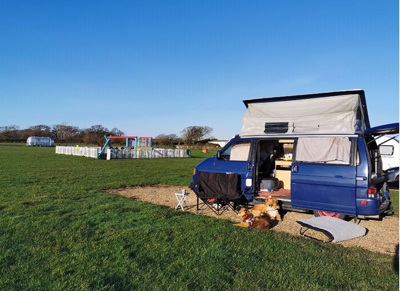 A VW T4 Campervan called Baloo and for hire in horsham, West Sussex