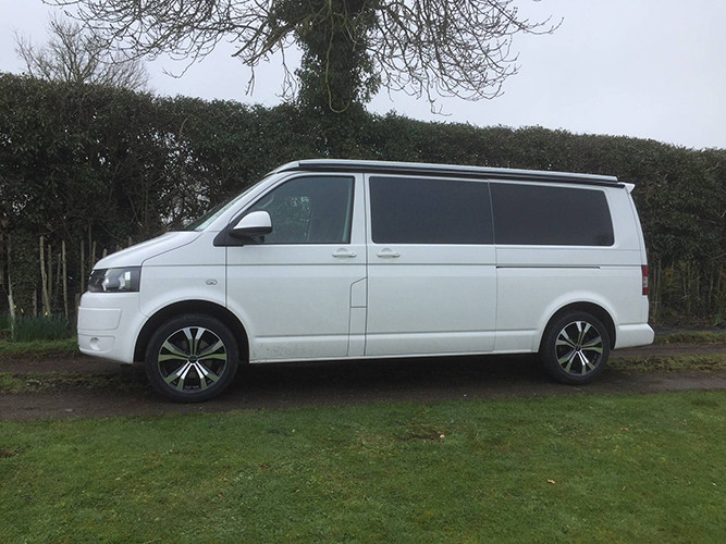 A VW T5 Campervan called Roxy and for hire in tiree, Argyll and Bute