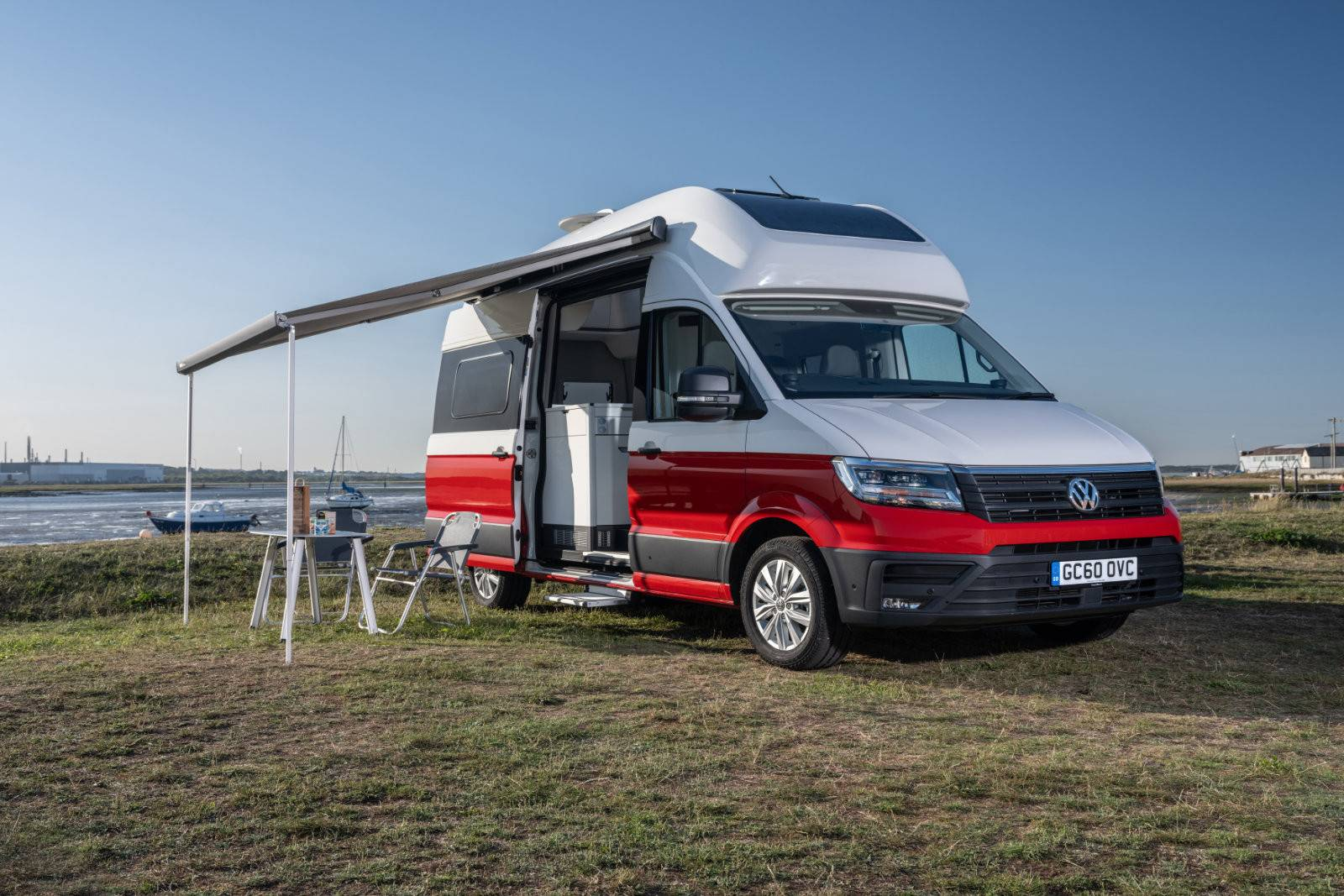 A VW Grand California Campervan called Elke and for hire in faro, Portugal