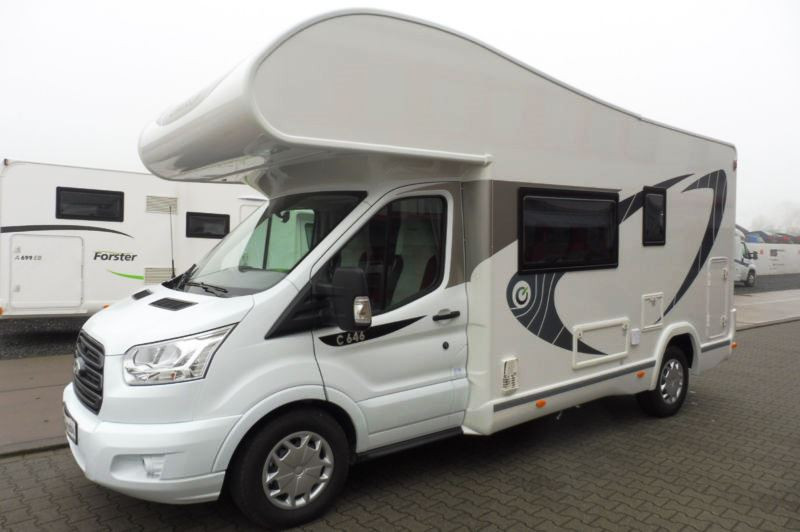 A OverCab Motorhome called Regan and for hire in vilnius district, Lithuania