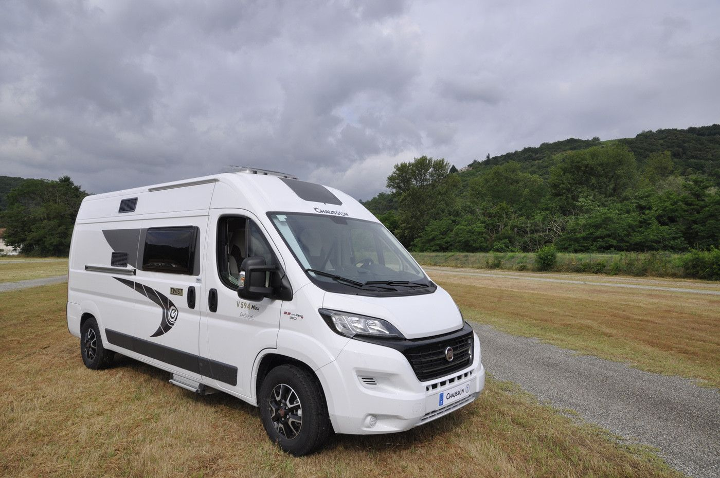 A A-Class Motorhome called Twist and for hire in vilnius district, Lithuania