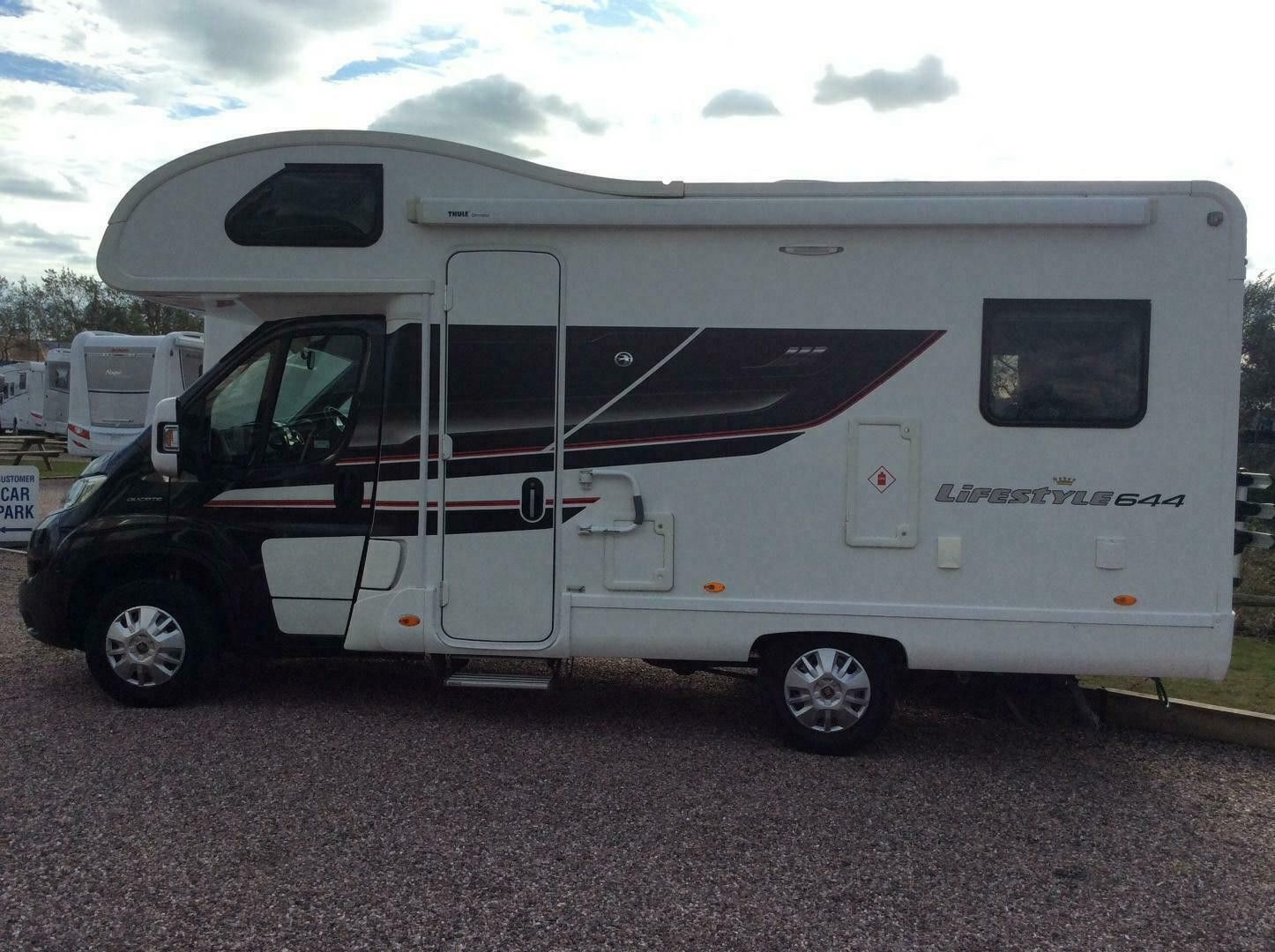 A OverCab Motorhome called Maverick and for hire
