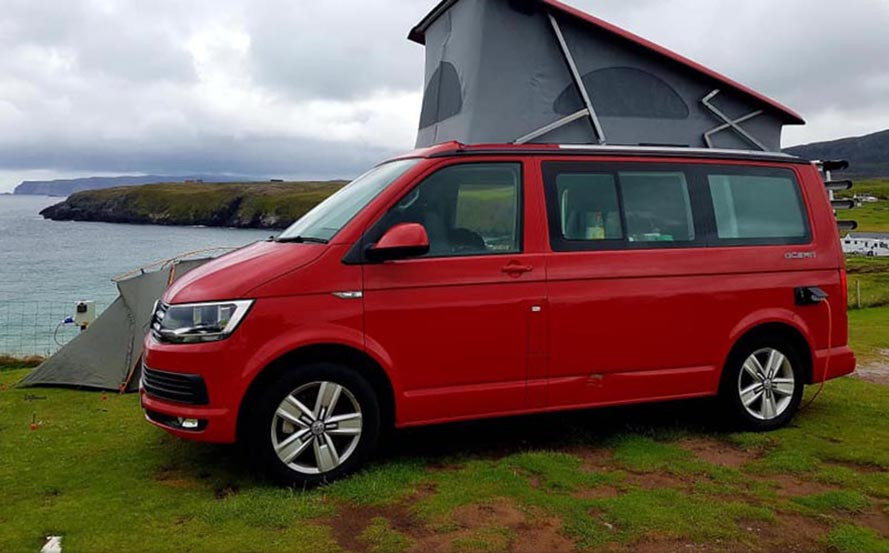 A VW T6 Campervan called Ralph and Ralph busy time for hire in preston, Lancashire