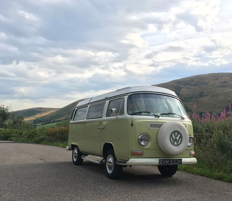 A VW T2 Classic Campervan called FlorenceT2 and for hire in darlington, Durham