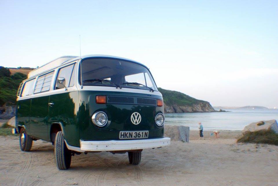 A VW T2 Classic Campervan called lolaT2 and for hire in Penryn, Cornwall