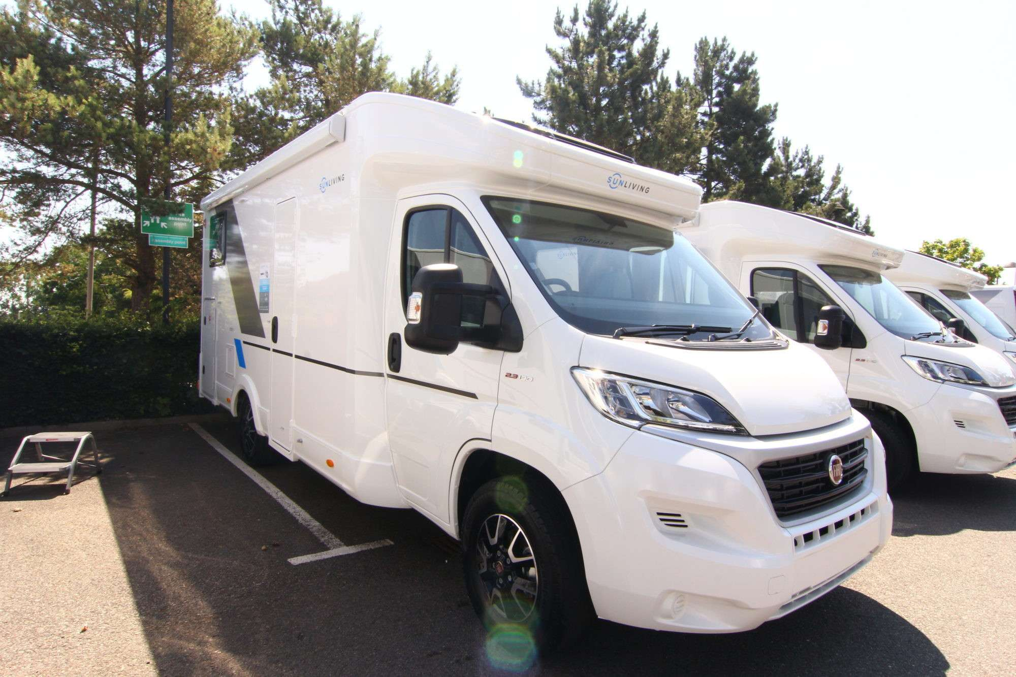 A Low Profile Motorhome called Seve and for hire in portrush, Antrim
