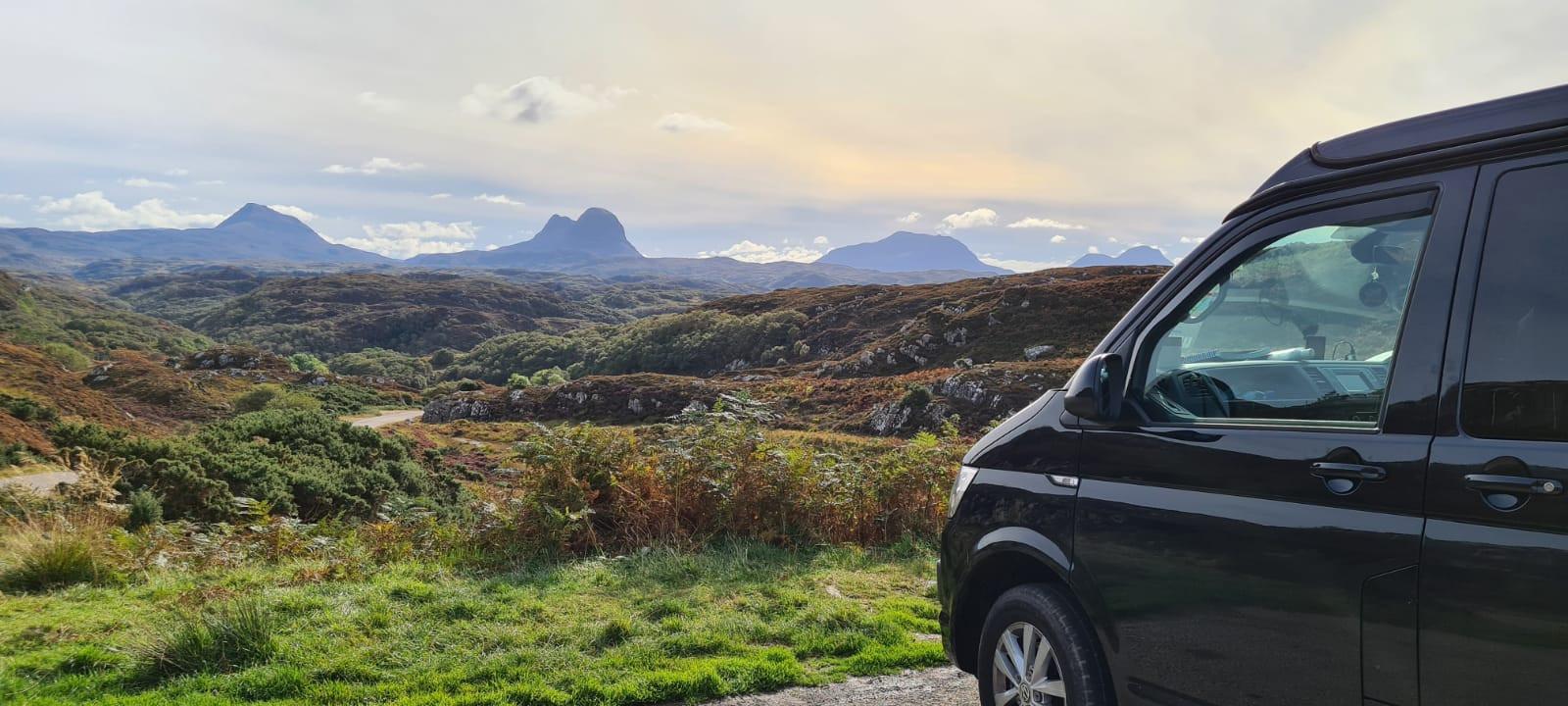 A VW T6 Campervan called BonnieT6 and for hire in Edinburgh, Edinburgh