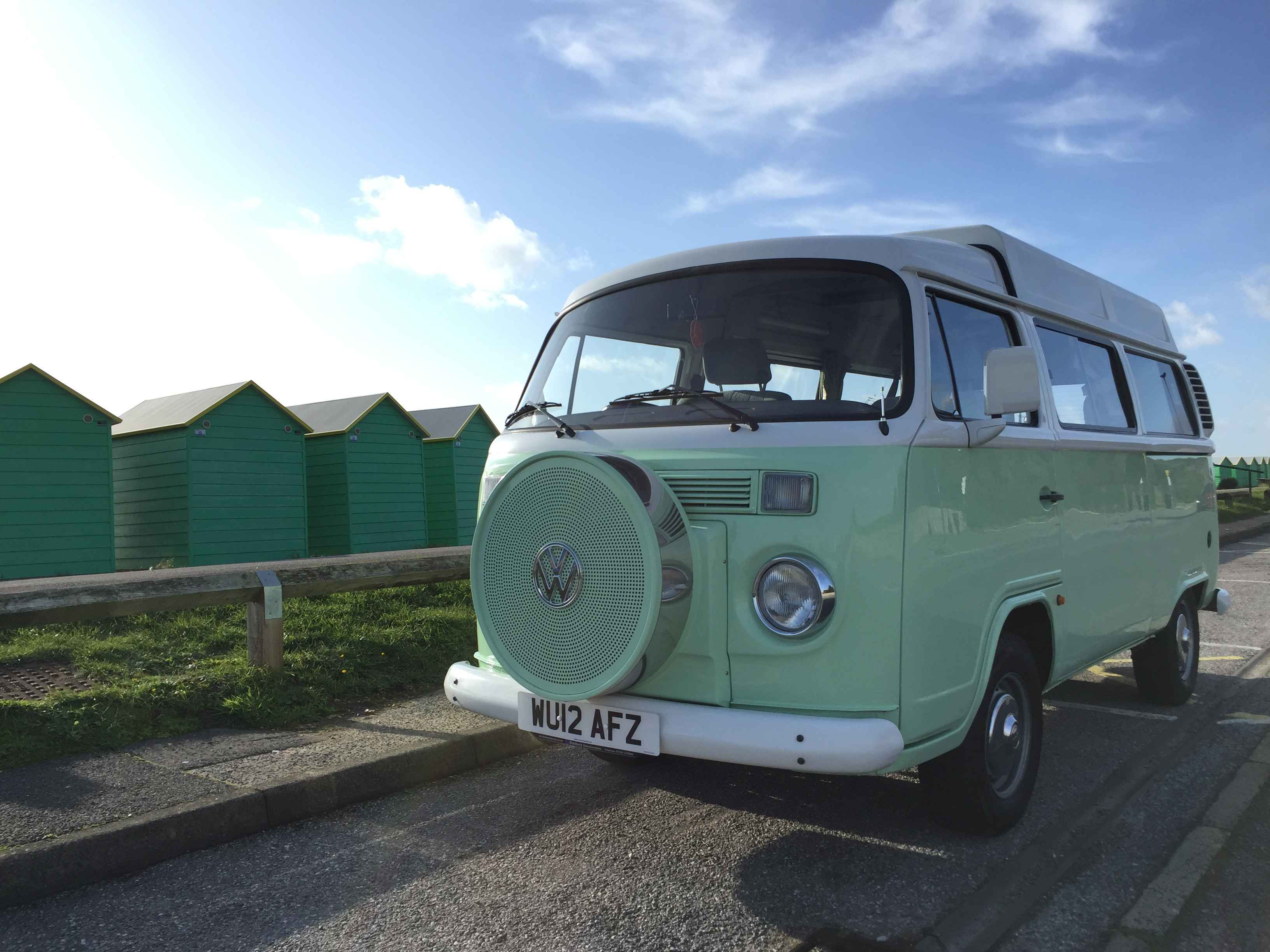 A VW T6 Campervan called Gia and for hire in ticehurst, East Sussex