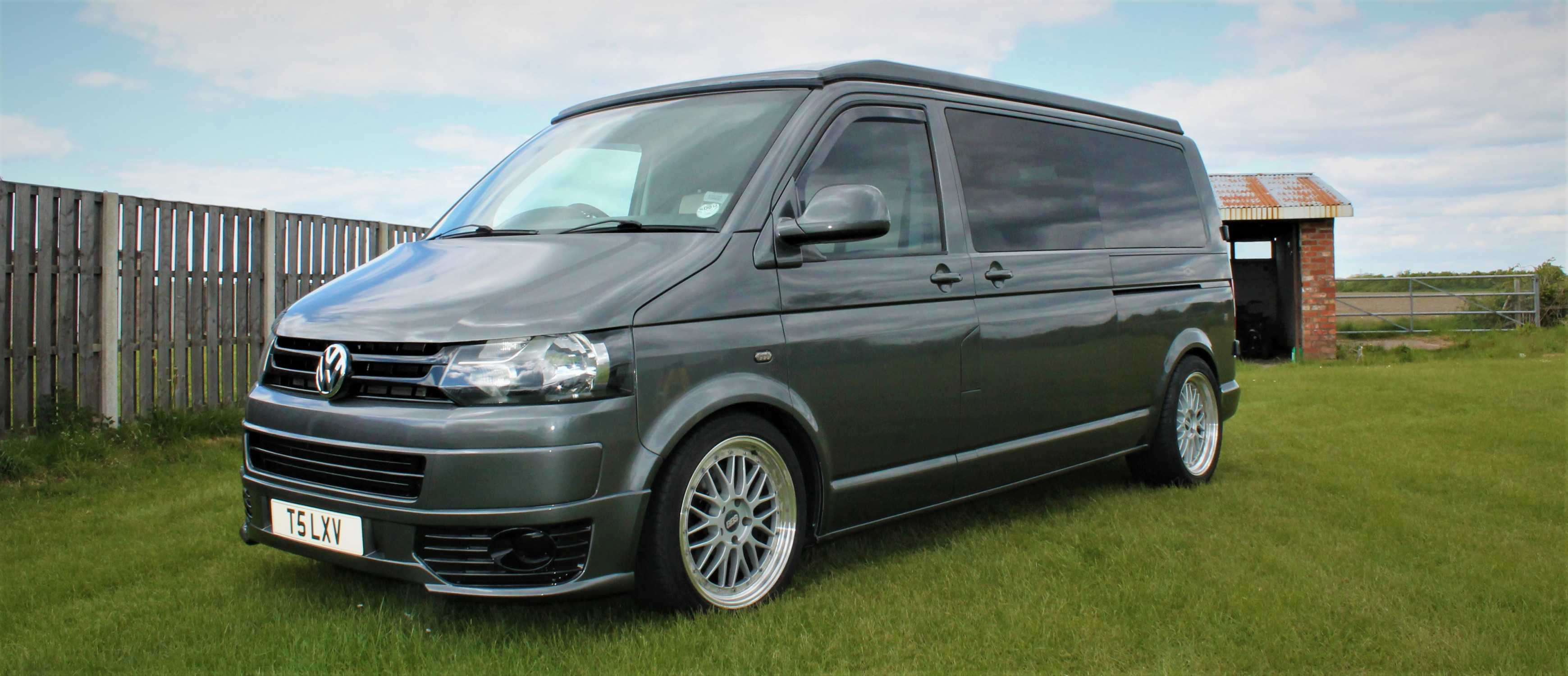A VW T5 Campervan called Sky and for hire in poulton-le-fylde, Lancashire
