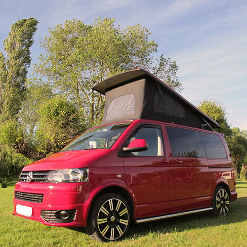 A VW T5 Campervan called PACHA and for hire in chelmsford, Essex