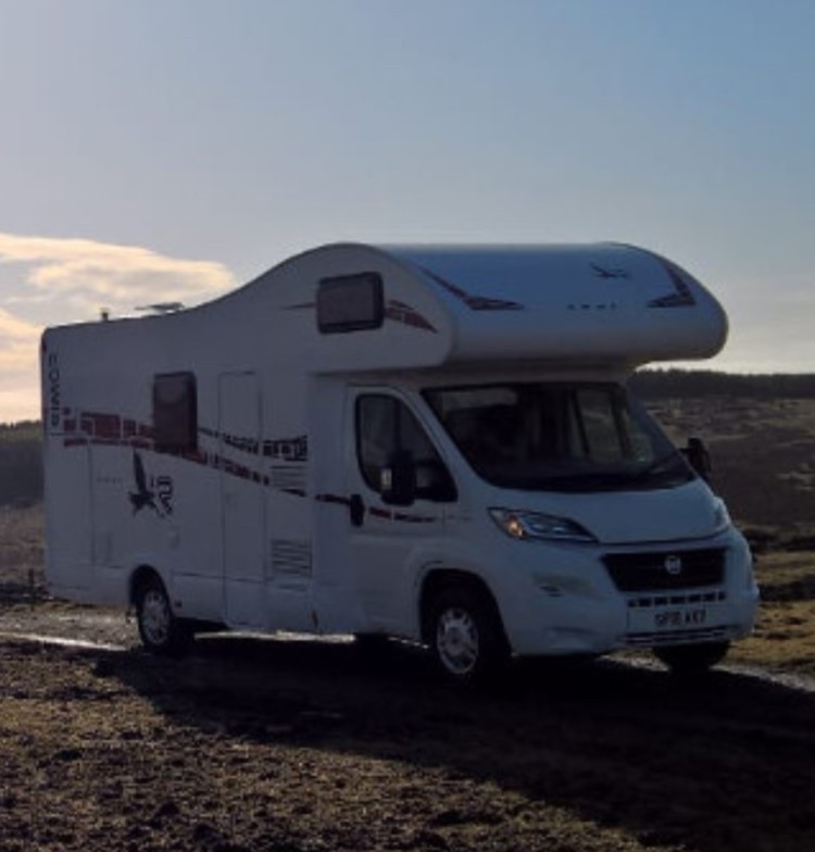 A Other Motorhome called Sylvester and for hire in nairn, Scotland