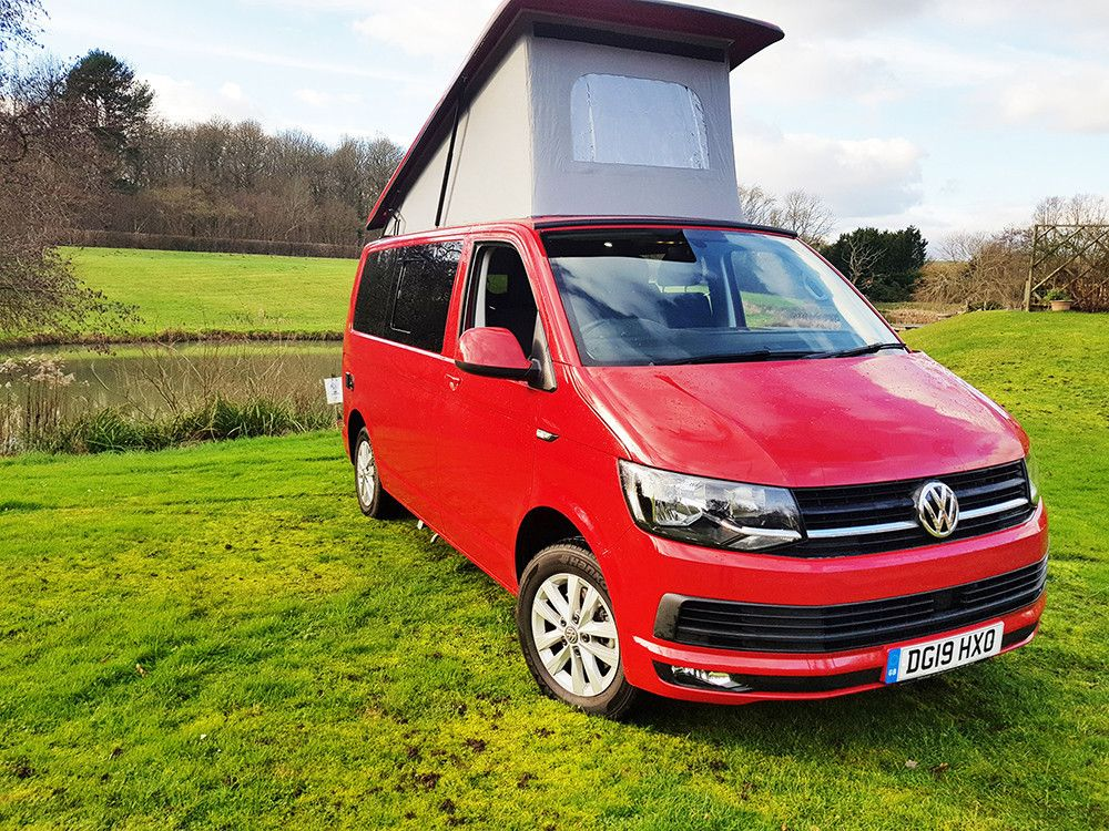 A VW T6 Campervan called Fernandes and for hire