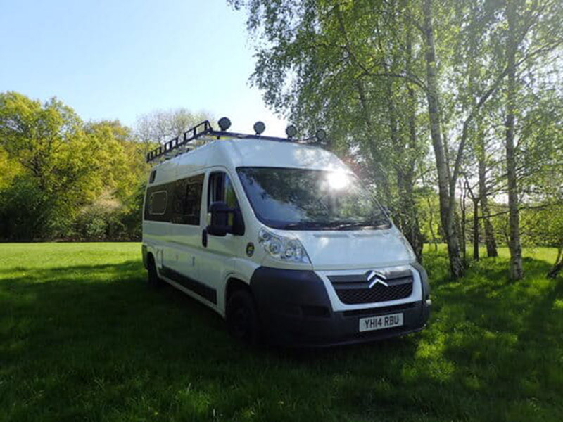 A Citroen Campervan called MightyBen and for hire in watford, Hertfordshire