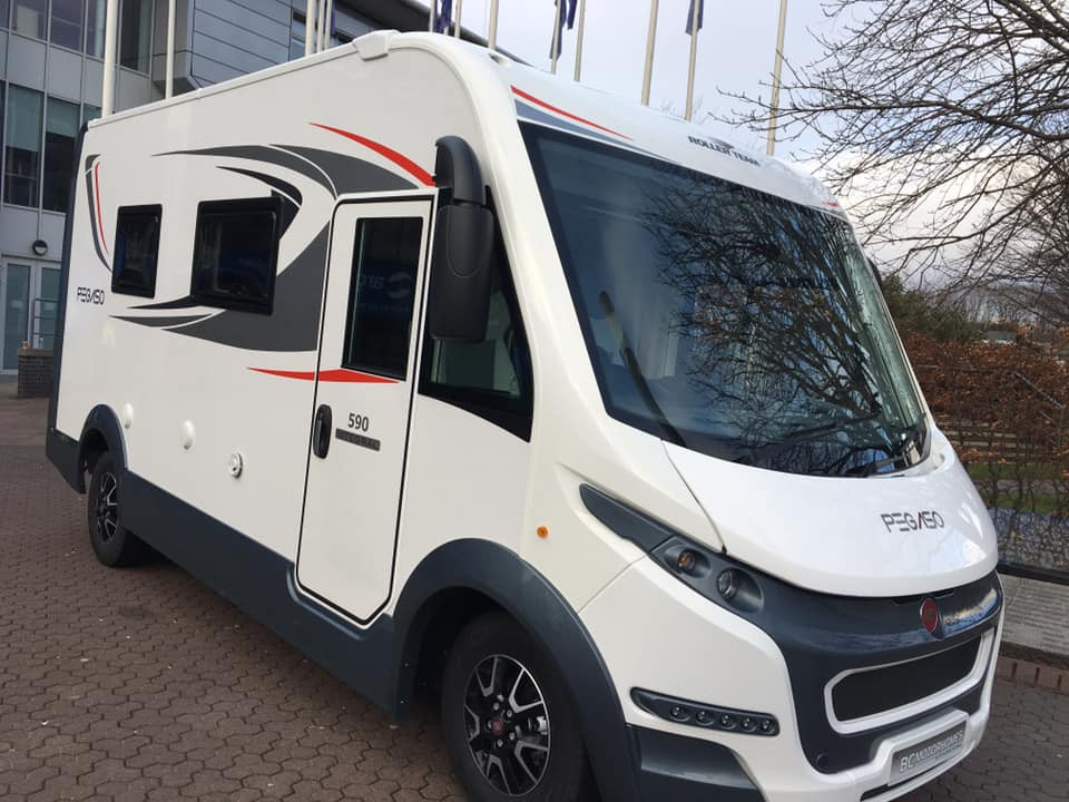 A A-Class Motorhome called Pegaso and for hire in glasgow, Glasgow